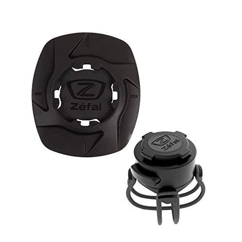 ZEFAL Universal Phone Adapter Bike Kit Smartphone Universel Support Téléphone Vélo Potence Cyclisme Mixte Adulte, Noir, Taille Unique
