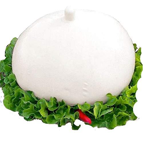 Mozzarelloni di Bufala Campana Dop|Paestum|Piana del Sele|Latte di Bufala|Alta Digeribilità|Pezzatura da 1Kg 2Kg 3Kg|Consegna 24/36 Ore|Dettaglio Spedizioni nella Descrizione (Pezzatura 1Kg)