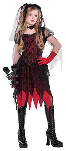 Deguisement mariee de la mort Halloween adolescente
