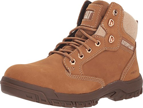 Caterpillar womens Tess Construction Boot, Sundance, 7.5 US
