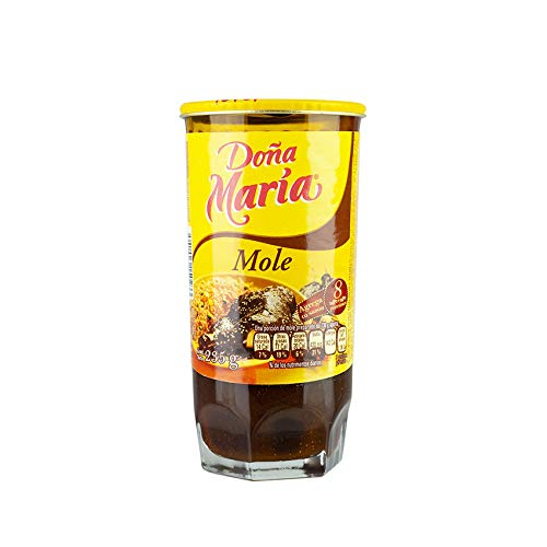 Gewürzpaste aus Mexiko, Glas 235g - Mole DOÑA MARIA 235g