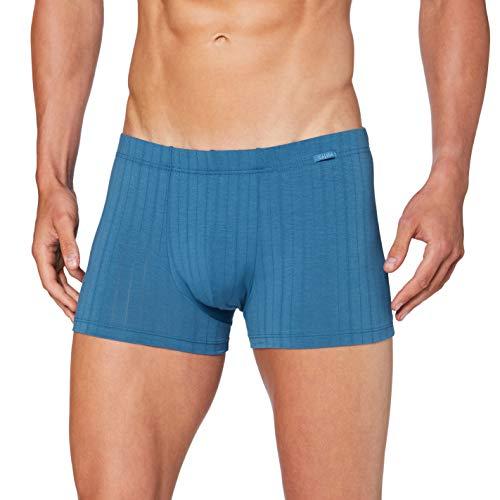CALIDA Herren Pure & Style Unterwäsche, Blue Lake, XL