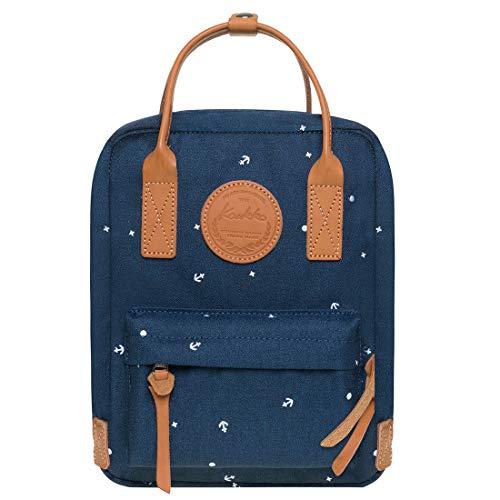 Kaukko Unisex Rucksack Damen, Klein, Modern Handtasche und Stilvoller Alltagstasche, 8.26
