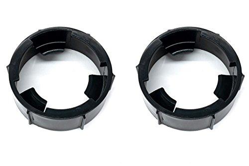 (2) Headlight Lamp Bulb Socket Retainer Rings