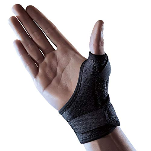 LP Support 563CA Thumb Bandage - Thumb Guard - Thumb Splint from the Extreme Series, tamaño:talla única, color:negro