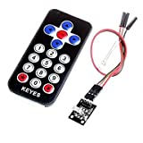 ULIAN Arduimo módulos/sensores de accessonries HX1838 Módulo de control remoto infrarrojo Mando a distancia infrarrojo para Arduino