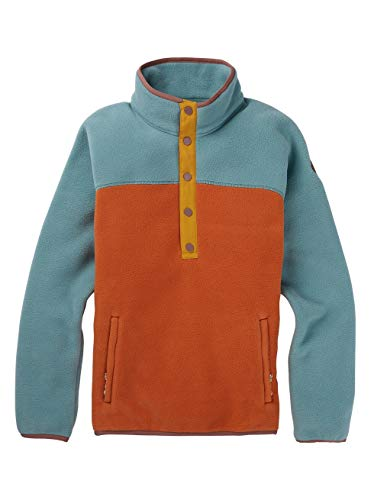 Burton Damen Hearth Fleece Pullover, Trellis/Burnt Ochre, M