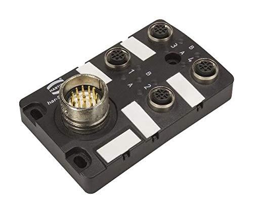 HARTING 090700201200 Sensor Distribution Box, 4 Ports, har-SAB Series