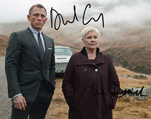 ThePRINTSHOP - Fotografia autografata di Daniel Craig Judy Danch James Bond