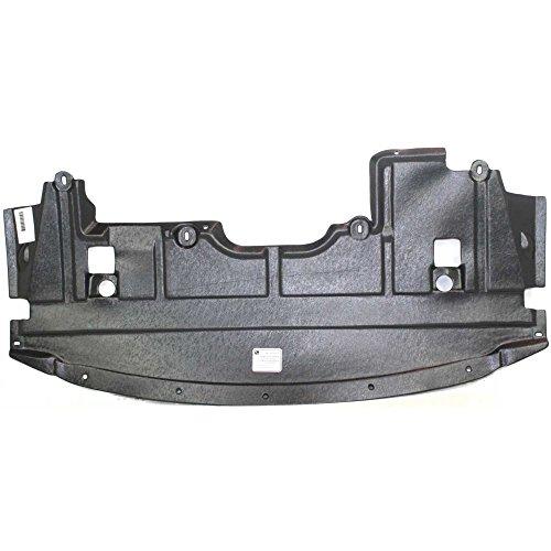 Evan-Fischer Engine Splash Shield compatible with Nissan Altima 07-09/Nissan Maxima 09-14 Under Cover Front Coupe/Sedan