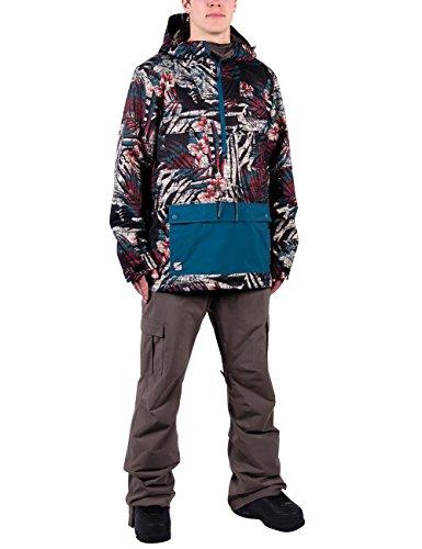 Nitro Herren Snowboard-Jacke Bear Jacket 15, Broken Palms/Slat, XL