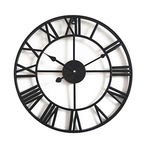 Reloj De Pared, Reloj de pared de metal Reloj de pared colgante...