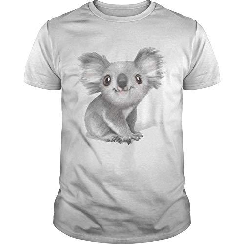 Balenciaga Koala Shirt-As Image-Housewarming Gifts New Home-playeras de Hombre-Teen Girl Gifts-Cotton Tshirt