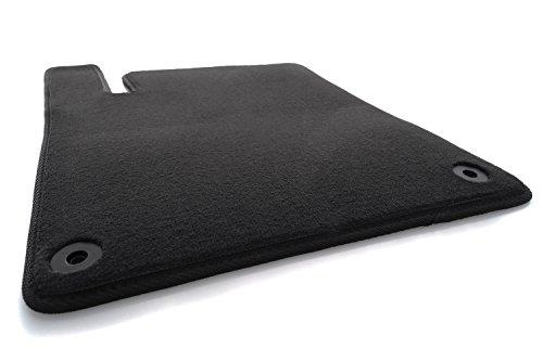 Tapis de sol kh pour voiture - Qualité originale- En velours - Coloris noir