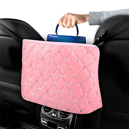 Fuyamp Organizador de piel para el asiento del coche, accesorio para el...