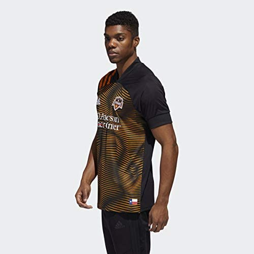 Amazon.com : adidas Houston Dynamo Away Jersey Men's : Sports ...