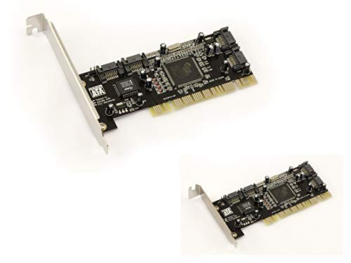 KALEA-INFORMATIQUE © PCI SATA Controller Card 4 Independent Ports or RAID...