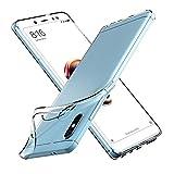 ivoler Hülle für Xiaomi Redmi Note 5 / Xiaomi Redmi Note 5 Pro, Premium Transparent Tasche Schutzhülle Weiche TPU Silikon Gel Schutzhülle Hülle Cover