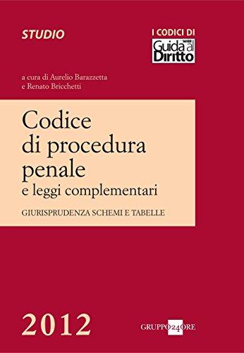 Codice di procedura penale 2012