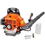 vidaXL 42.7 cc 900m³/Hour Petrol Power Backpack Leaf Blower Sweep Handheld Garden Tool