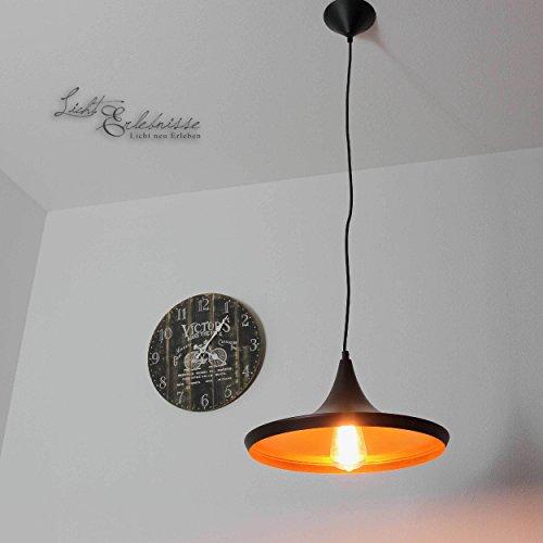 Elegante metalen hanglamp zwart goud verstelbaar E27 Loft Design hanglamp eettafel keuken