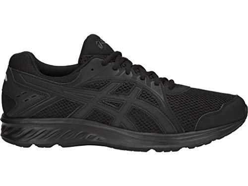 ASICS Men's Jolt 2 Running Shoes, 12M, Black/Dark Grey
