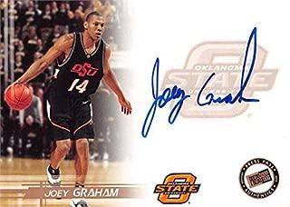 Joey Graham autographed Basketball Card (Oklahoma State Cowboys) 2005 Press Pass Rookie #14