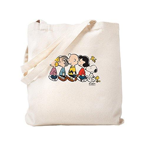 CafePress Peanuts Gang Tragetasche, canvas, khaki, S