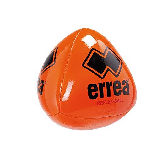 Erreà Trick Reflexball Reaktionsball · Zubehör Training Ball Fußball Rugby Sport Reflex-Ball Reaktionstraining · Damen Herren Frauen Männer Kinder Jungen Mädchen · Farbe orange, Größe OneSize