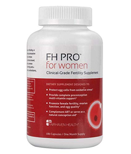 FH PRO for Women, Premium Fertility and Prenatal Multivitamin with Myo+D-Chiro Inositol, Supports Regular Cycles & Egg Quality, Full Spectrum Nutrient Boost for Diet Gaps, Herb-Free, w Methylfolate