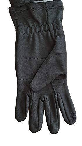 Tchibo TCM Laufhandschuhe Handschuhe Joggen atmungsaktiv schwarz 7,5