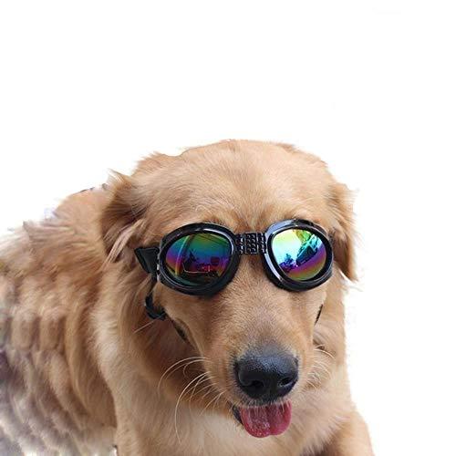 WINNER POP huisdier bril, waterdicht en winddicht UV hond zonnebril, beschermen uw ogen, veilig en comfortabel, geschikt voor grote en middelgrote honden en katten