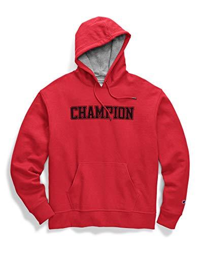 Champion Mens Powerblend Pullover Hoodie, L, 7673 Oxford Grey