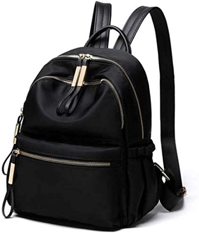 Backpack New Nylon Oxford Cloth Backpack Fashion Wild Backpack College Wind Bag