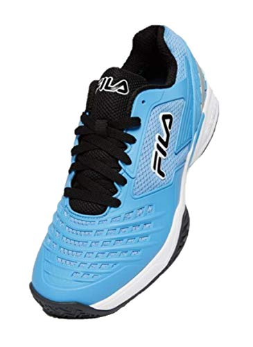 Fila Men's Axilus 2 Energized Tennis Shoe (Little Boy Blue/Black/White, 7.5)