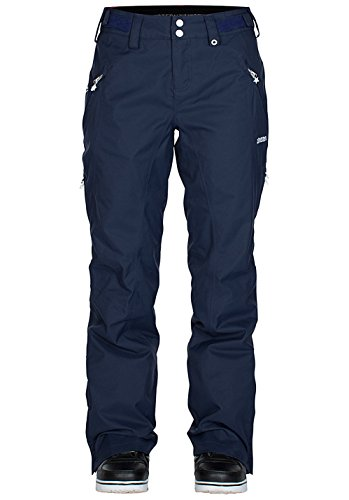 Zimtstern Damen Snow Pants Zlender, Navy, XL