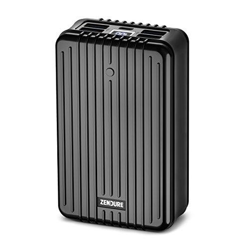 Zendure A8PD - Batterie Externe 26800mAh (Résistante aux Chocs, 5-Port Charge Rapide 3.0, 42W Power Delivery pour iPhone, MacBook, iPad, Android, Nintendo Switch, USB, USB-C, Portable), Noir