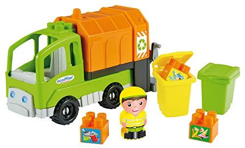 Écoiffier- Camion Poubelle Abrick – Jeu de Construction pour Enfants – Dès 18 Mois – Fabriqué en France, 3350