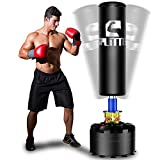 Splitter Free Standing Boxing Punch Bag, Heavy Duty Punching Bag Stand with Suction Cup Base
