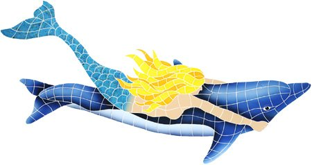 Why Choose Mermaid With Dolphin 31″x60″