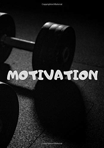 MOTIVATION the gym: habits diary, building habits, keeping an eye on habits, motivating notebook
