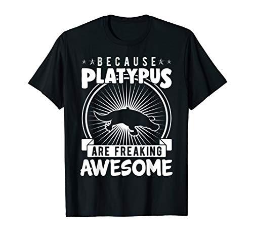 Weil Schnabeltier Awesome Funny Duck Bill ausflippen T-Shirt