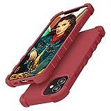 Gorain Flüssige Silikon Hülle Kompatibel mit Phone 12/12 Pro, MilitärischerFallschutz...