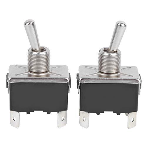 Interruptor de palanca BEM ‑ 1221C Kit de interruptor de palanca de 4 pines con luz LED con material de polipropileno