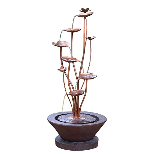 Jeco Acqua Di Loto Lotus Outdoor Fountain