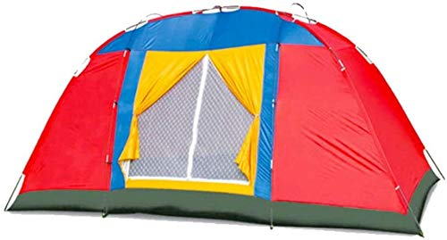 DS YQDSY Tent Camping Tent Ultra Légère Hiking Tent for Outdoor Changing Dressing for Camping for 8-10 People Storage Room Tents/As Shown