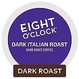 Eight O'Clock Coffee Dark Italian Roast Keurig Single-Serve K-Cup Pods, Dark Roast Coffee, 72 Count