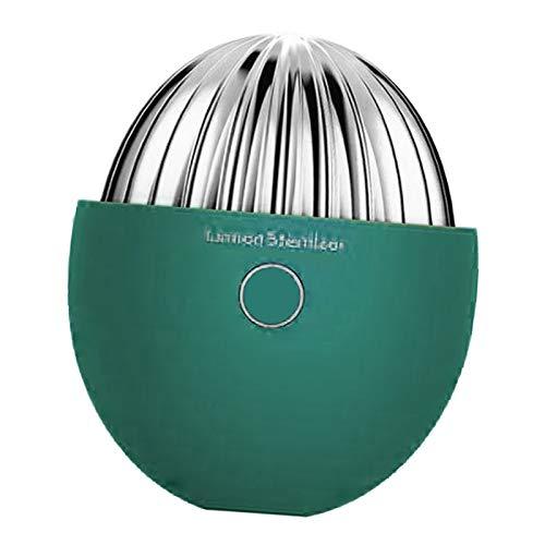 Baoblaze Désodorisant de Stérilisation Réutilisable pour Réfrigérateur, Petit Assainisseur de Réfrigérateur, Générateur D'ozone Portable, Mini-purificateur D'a - Vert
