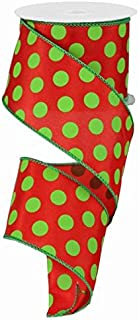 Best lime green christmas ribbon Reviews