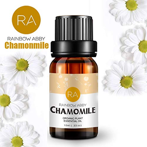 Chamomile Essential Oils - 100% Pure Natual Plant Olis, Best Therapeutic Grade - Aromatherapy, Massage, Beauty - 10mL